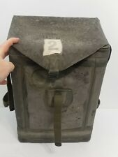 WWII Era US Army D-Day Rubberized Special Purpose Waterproof Pack Bag LG - RARE