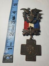 UNITED STATES SPANISH AMERICAN WAR VETERANS MEDAL 1898-1902..NUMBERED 3708....