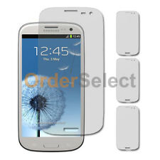 3X NEW Ultra Clear HD LCD Screen Protector for Android Phone Samsung Galaxy S3