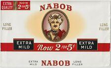 Nabob - Cigar Box Label