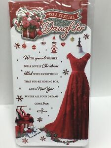 Special Daughter Christmas Greeting Card