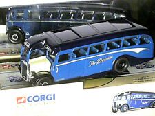"""AUTOCAR ANGLAIS LEYLAND TIGER 1950 """"DELAINE COACHES"""" CORGI 1/50  1993"""