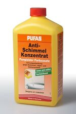 Pufas Anti Schimmelkonzentrat 1l Schimmelzusatz fungizider Farbzusatz