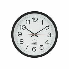 """NEW Staples 14"""" Round Atomic Wall Clock (18383) 812291         BOX A81"""