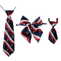 4th of July/July 4 New Pet Dog Cat Bow ties&Neck Ties Adjustable Dog Collar