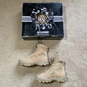 NEW BLACKHAWK! Warrior Wear ZW7 Waterproof Side Zip Boots US 7 MSRP $164
