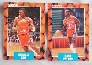 1990 Pro Prospects Star Pics Basketball Pick one
