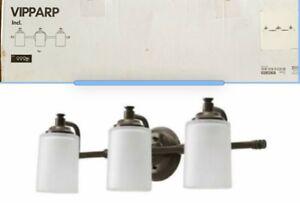IKEA VIPPARP Contemporary Wall lamp, 3-spots, bronze color,  **NEW**