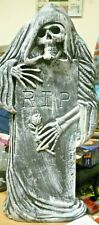 Large 17 Inch R.I.P Headstone Latex Mould Christmas Gift Ornament Crafts
