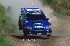 Tommi Makinen Subaru Impreza WRC2003 Acropolis Rally 2003 Photograph
