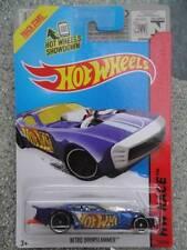 Hot Wheels 2014 #159/250 NITRO DOORSLAMMER bleu HW COURSE Lot Q Long Carte