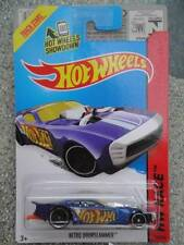 Hot Wheels 2014 # 159/250 Nitro Doorslammer Azul Hw Race Lote Q largo Tarjeta