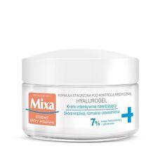 Mixa Hyalurogel Intensément Hydratante Crème Visage Pour Normal déshydraté Peau