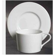 Block China Spal Portugal Lisboa White - Cup & Saucer or Soup / Cereal Bowl