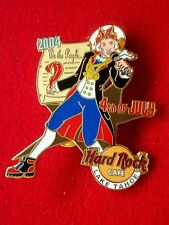 HRC Hard Rock Cafe Lake Tahoe 4th July 2004 James Madison Constitution LE200