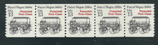 Scott #2258....13 Cent....Patrol Wagon.... Plate # Strip of 5 (#1)