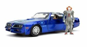 Jada 1/24, Henry Bower's Pontiac Firebird and Pennywise Figure (Tv Film)