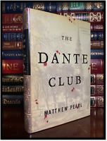 The Dante Club ✎SIGNED✎ by MATTHEW PEARL Mint Hardback 1st Edition & First Print