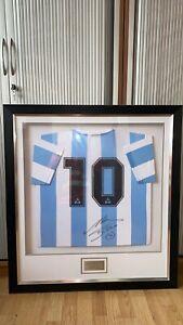Diego maradona signed shirt