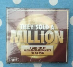 🌟READERS DIGEST🌟3XCD SET🌟THEY SOLD A MILLION🌟1960S🌟SEALED🌟UK🇬🇧SELLER🌟