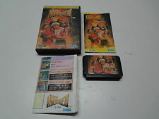 Bare Knuckle III + Extra Command Sheet Sega Megadrive Japan