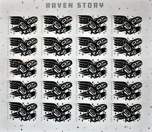 SCOTT#5602 RAVEN STORY FOREVER SHEET OF 20