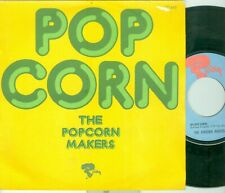 """THE POPCORN MAKERS - POPCORN ( FRENCH RIVIERA  121 446 J) 7""""PS   1971"""
