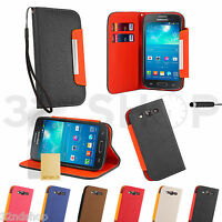 STAND BOOK PU LEATHER WALLET CASE COVER FOR SAMSUNG GALAXY S3 Siii i9300
