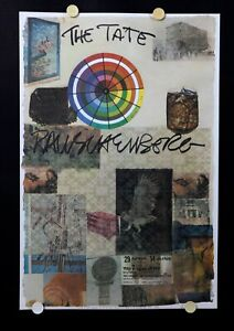 Robert Rauschenberg - For the Tate Gallery - 1980 - Exhibition Poster