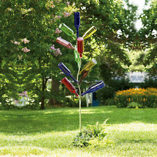 Metal Bottle Tree Garden Stake