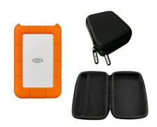 LaCie 4TB Rugged Hard Drive with FREE Rizer Hard Storage Case