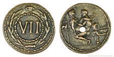 Roman Spintria Brothel Entry Token VII Bronze