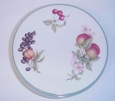 SALAD PLATES ENGLAND FRUIT & BERRIES SET OF 6