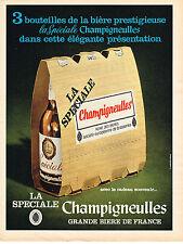 PUBLICITE  1968   CHAMPIGNEULLES   bière LA SPECIALE