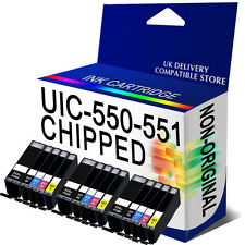 15 Chipped Ink Cartridge Replace For Canon Pixma MG7150 MG5550 MG6450 MX725