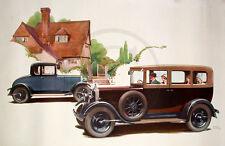 Standard Car, Standard, Traffic, Jam, Cars, 1930s Art Deco, Poster Print