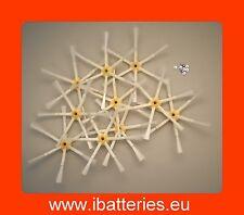 10 zijborstels / brosses latérales voor/pour iRobot Roomba série 500 & 600 & 700