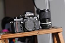 Nikon F3 HP camera with a Nikkor lens and new batteries