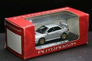 Subaru impreza Wrx Sti 2005-2007 Limousine Weiss 1//43 Auto Art Autoart Modellaut
