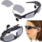 Wireless Flip-up Sunglasses Bluetooth Stereo Music Headphone for Phone/Tablet PC