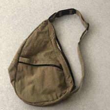 AmeriBag Healthy Back Bag® Olive Green Crinkle Microfiber Medium/Large