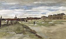Van Gogh Drawings and Watercolors: The Bleaching Ground - Fine Art Print