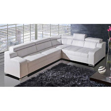 New Msofas Oscar Left Right Corner Royal SofaBed With Storage White Furniture