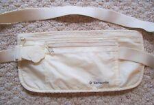 Sampsonite Travel Money Belt Adjustable Belt Two Zippered Pockets
