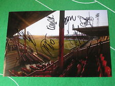 Brentford FC 2014/15 Squad Signed x 10 Griffin Park Photograph