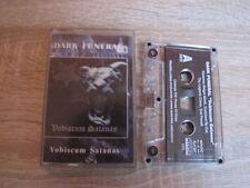 DARK FUNERAL - Vobiscum Satanas MC Rare MARDUK SETHERIAL ENTHRONED GORGOROTH