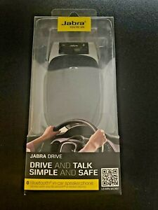 Jabra Drive Hands-Free Wireless Bluetooth Speakerphone Car Kit for Smartphones