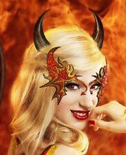 Deluxe Xotic Eyes Demonic Devil Demon Eye Mask Makeup Kit Costume Accessory NEW