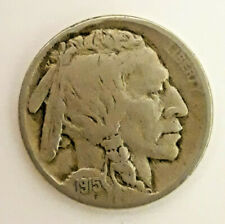 New Listing1915 Indian head buffalo nickel (L2020-153)
