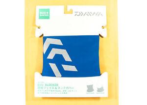 Sale Daiwa DA-9806 Bug Blocker Face and Neck Cover Blue 093293